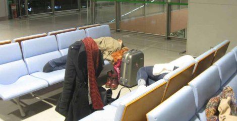 sleepinginairports
