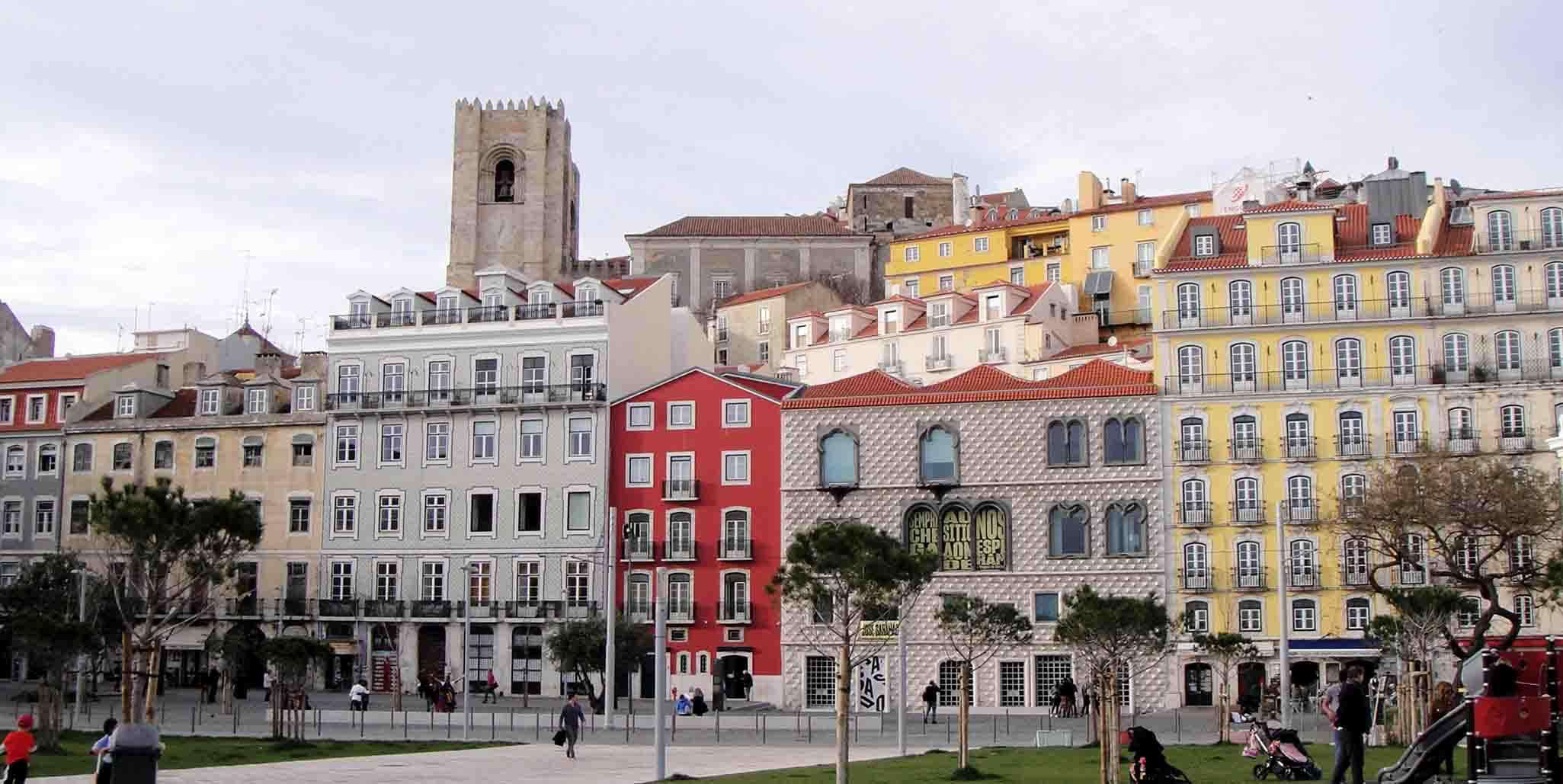 Castle, Alfama, Mouraria – Santa Maria Maior – Lisbon, Portugal